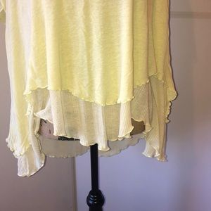 Free People Tops - free people lemon and lime top